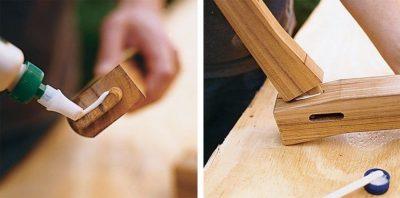 Склейка дерева в домашних условиях