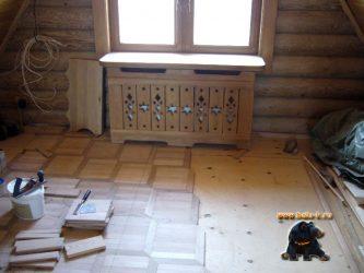 Как отделать старый деревянный дом внутри?