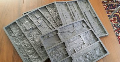 Как самому сделать декоративный камень из гипса?