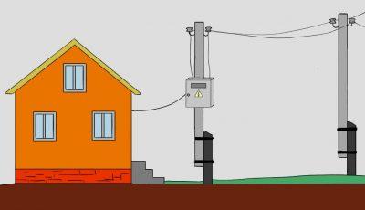 Как провести свет на дачный участок?