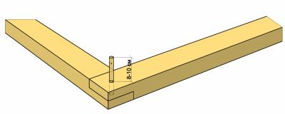 Как скреплять брус между собой в углах?