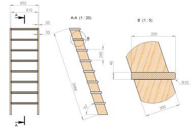 Как сделать лестницу в погреб своими руками?